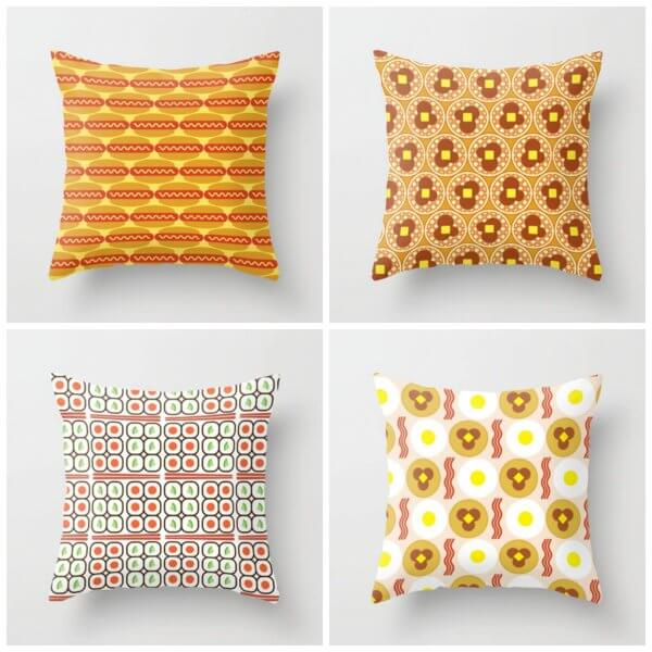 food-themed-pillows