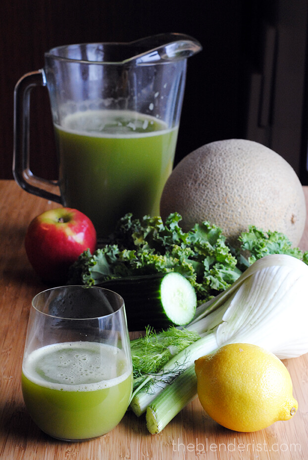 fennel-green-juice