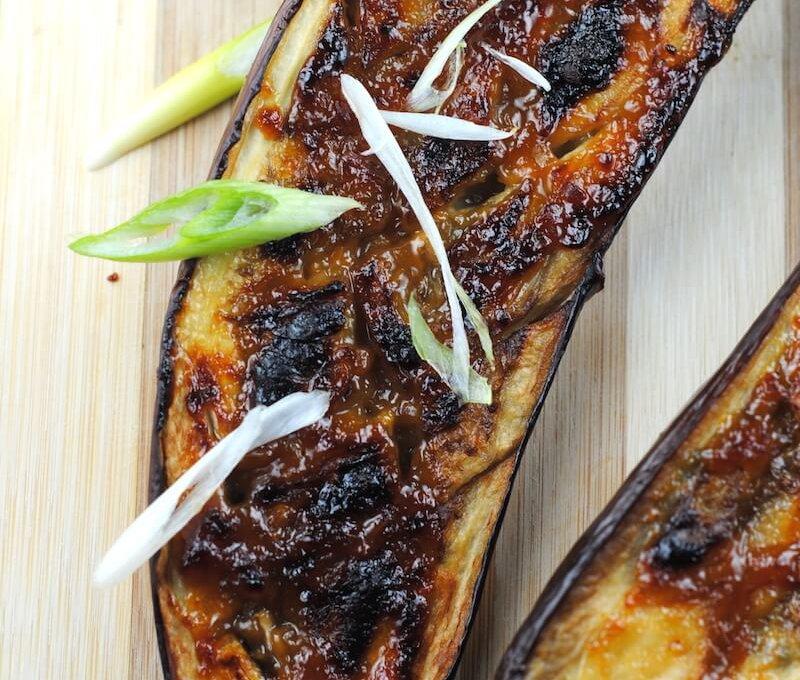 Nasu-dengaku-miso-glazed-eggplant