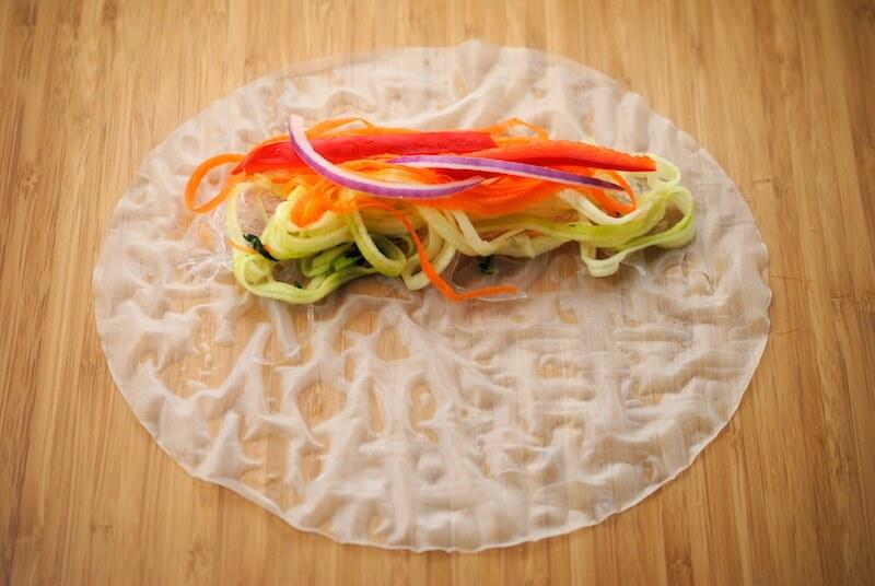 vegetables-on-wrapper