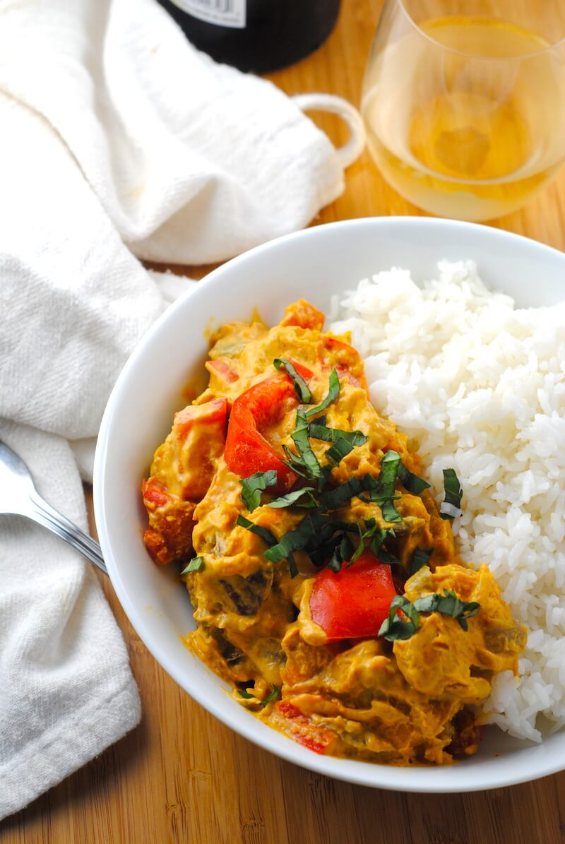 ... red curry with kabocha kabocha squash and tofu curry thai red curry