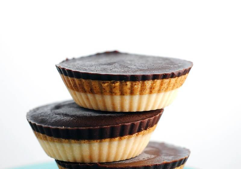 Triple-layer-coconut cups