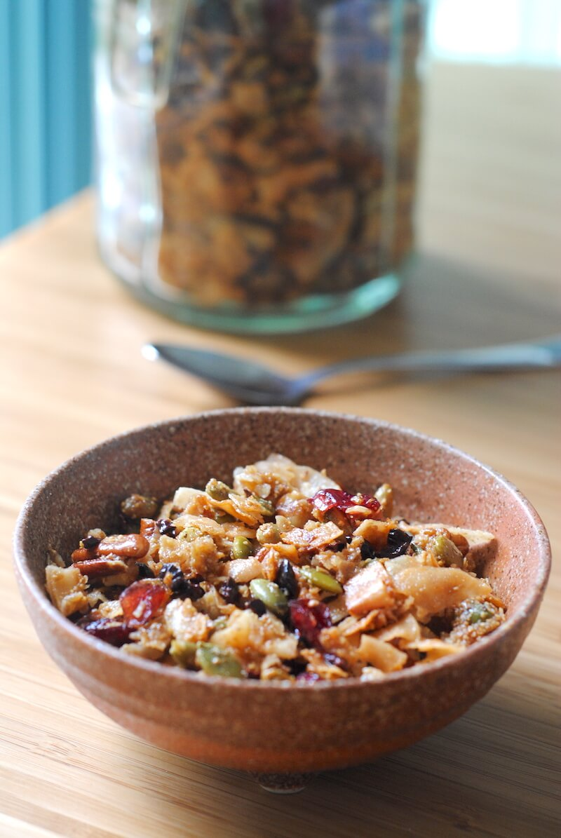 "Grain Free Granola And Fruit Salad - A ""Parfait"" Combination Recipe..."