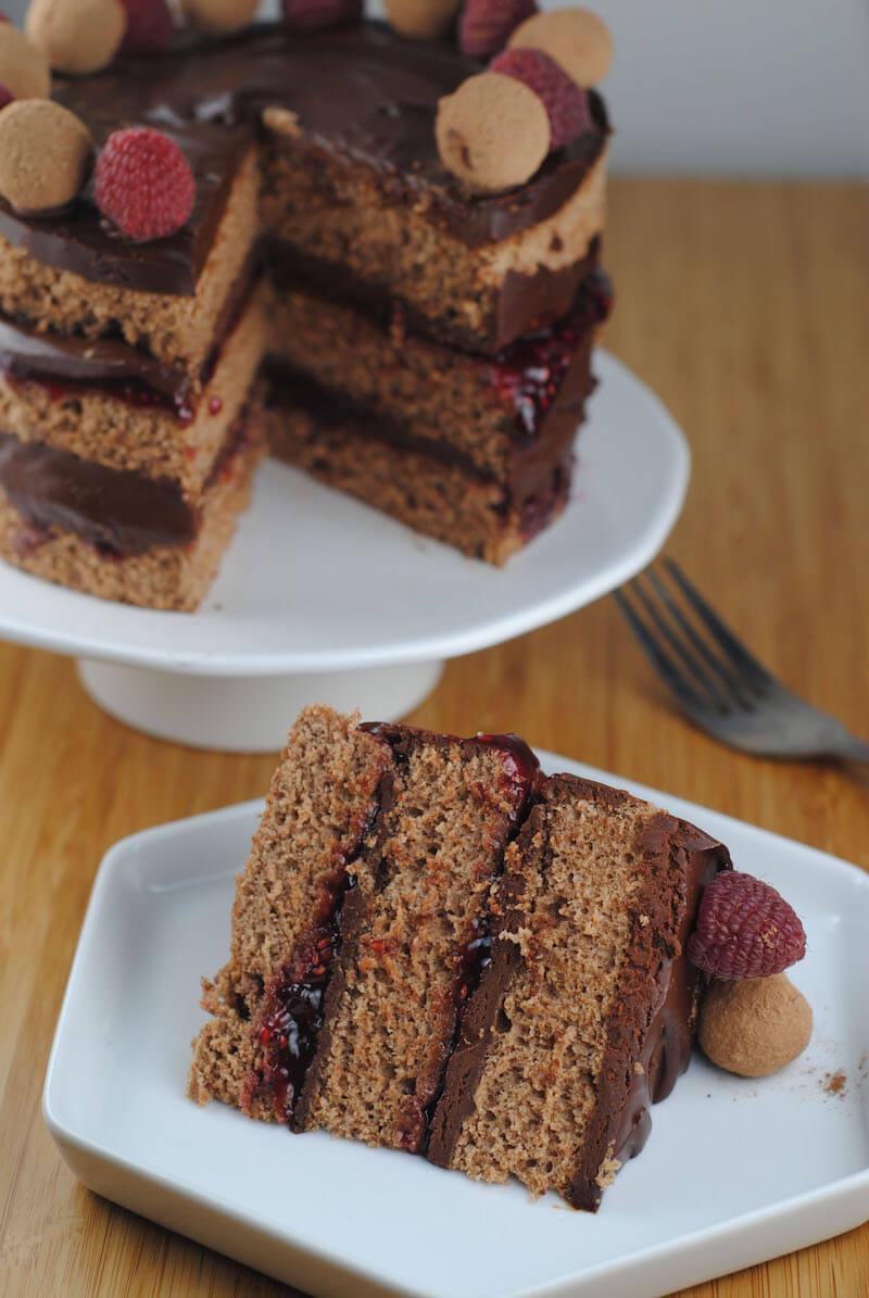 Happy belated birthday chocolate cake recipe - Herve cuisine cake chocolat ...