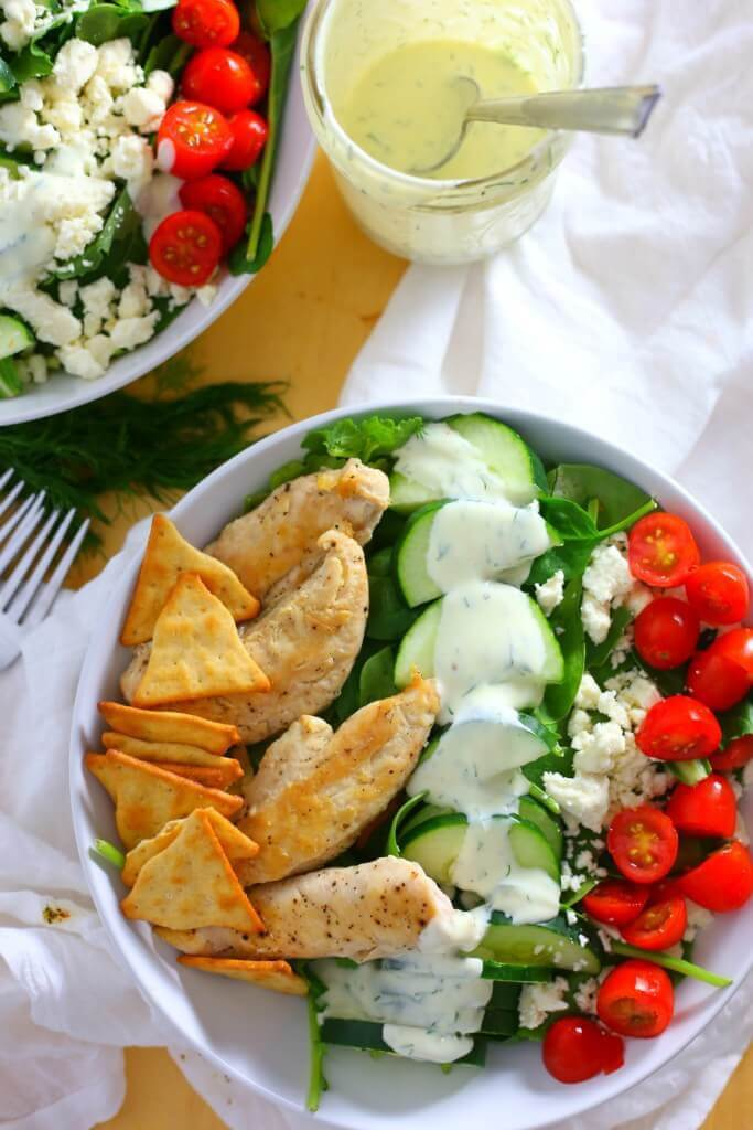 chicken-gyro-kale-salad