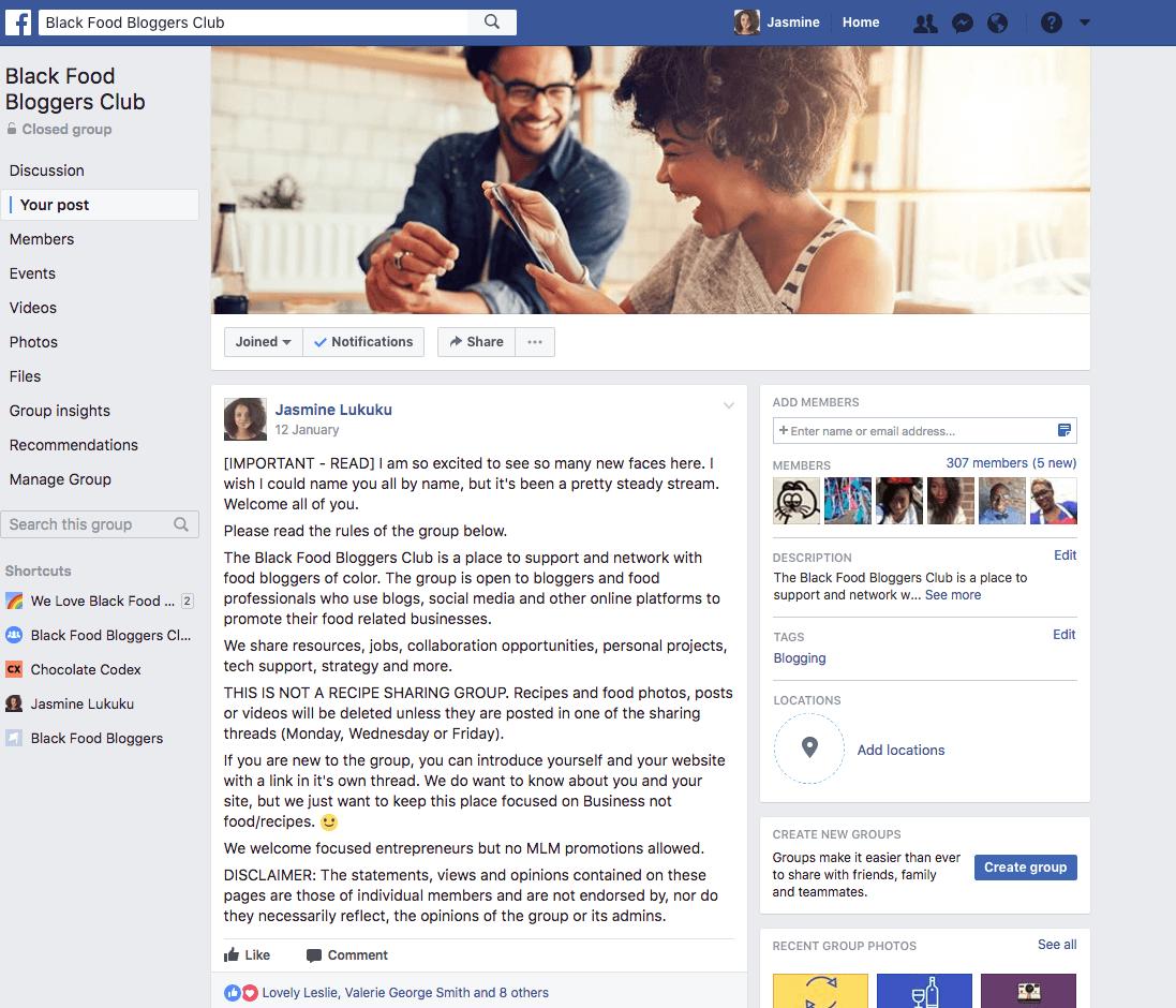 Black-food-bloggers-club-facebook