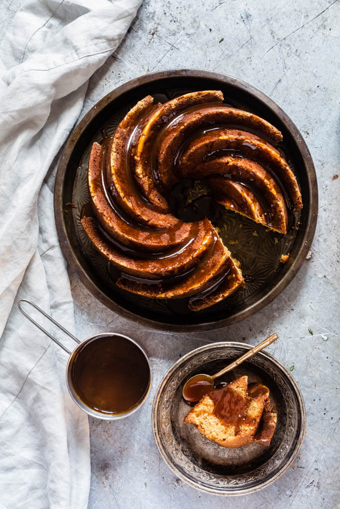 Orange-Bundt-Cake-With-Salted-Whisky-Caramel